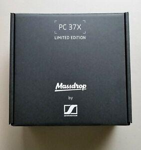 Genuine PC 37X Limited Edition Massdrop by Sennheiser PC Headphones EMPTY BOX