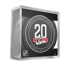 Carolina Hurricanes 20th Anniversary 2017- 2018 NHL Official Game Hockey Puck