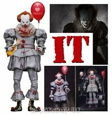 "NECA - IT PENNYWISE CLOWN 7"" - DELUXE 3D BOX version - Horror Figure (SET 2)"