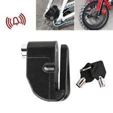 Motorcycle Bike Scooter Anti-theft Wheel Disc Brake Alarm Lock Security Kit+ Key