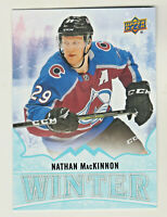 2019-20 Upper Deck Singles Day WINTER #W9 NATHAN MacKINNON Avalanche UNSCRATCHED