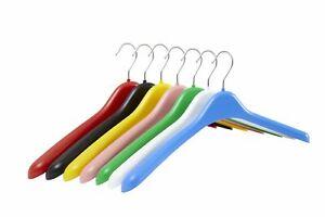 Pack of 5 Plastic Jacket Hangers - 42cm
