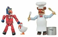 Disney Minimates- The Muppets- Gonzo & Swedish Chef BRAND NEW #sdec17-181