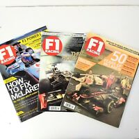 F1 Racing Magazine Lot of 3 Back Issues MotorSport 2012 2103 McLaren Auto Car