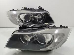 BMW JDM 325i 330i 328i 335i E90 E91 Sedan Front Headlights Lamp XENON HID