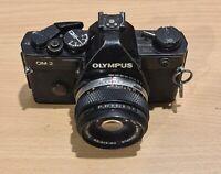 Olympus OM-2 35mm SLR Film Camera with 50 mm lens - Vintage - Read #16
