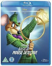 Basil the Great Mouse Detective (Blu-ray, Disney, Region Free) *BRAND NEW*