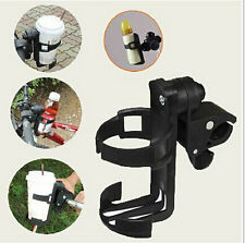 Baby Stroller Parent Console Organizer Cup Holder Buggy Jogger Portable Black