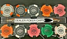 HARLEY-DAVIDSON® RIDERS OF BRIDGWATER DEALER COLLECTABLE POKER CHIPS