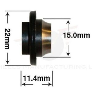 Wheels Manufacturing Hub Axle Cone (Shimano Front) (CN-R055)