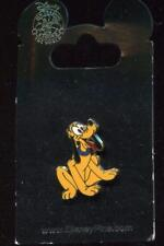 Pluto Sitting w Blue Collar Disney Pin 1110