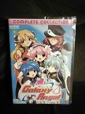 -SEALED- Galaxy Angel Complete Collection 4-Disc DVD Box Set Bandai