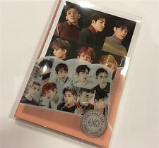 EXO  POST CARD SET (16PCS) WITH CLEAR CASE PACKAGE KPOP IDOL GOODS