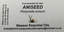 aniseed essential oil 10ml bottle