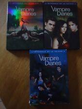 LOT 3 COFFRETS DVD **  VAMPIRE DIARIES Saison 1 2 3 ** INTEGRALE COMPLET SERIE