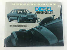 Mercedes-Benz DIesel Automobiles Hardcover Book, by Nitske, 151 pgs.- 1981 First