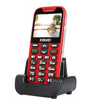 EVOLVEO EASYPHONE XDR TELEFONO PER ANZIANI CON STAND DI RICARICA GARANZIA ITALIA