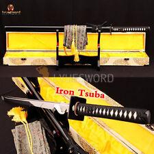 Full Tang Japanese Ninjato CHOKUTO Samurai Sword 1060 Carbon Steel Sharp Blade
