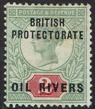 NIGER COAST OIL RIVERS 1892 QV 2D