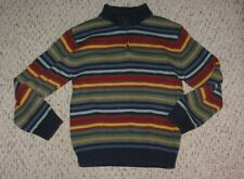 Striped Gymboree Pullover Sweater, Firehouse Hounds Outlet, Size 8, VGUC