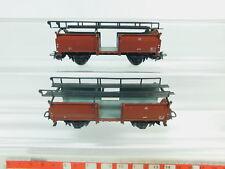 bn463-0,5 #2x Märklin H0 / AC 4612 guss-autotransportwagen Off 52 315/4 DB