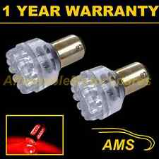 2X 380 BAY15D 1157 XENON RED 24 DOME LED STOP TAIL BRAKE LIGHT BULBS ST200401