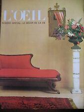 REVUE ART L'OEIL N° 106 de 1963 SPECIAL DECOR DE VIE POP TCHEKHOV ARCHITECTURE