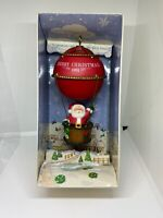HALLMARK KEEPSAKE CHRISTMAS ORNAMENT 1981 SAILING SANTA HOTAIR BALLOON NIB