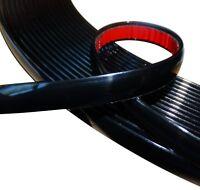 10mm 4.5m Bande baguette adhésive couleur noir pour auto voiture moto