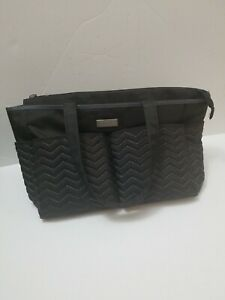 Cater's Just one you' black Diaper Bag