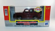 Collectable Mercedes Benz 300 GD Friction 4x4 Diecast Model Doors Open 1:32 BNIB