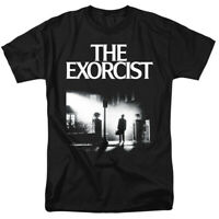 The Exorcist Movie Poster 1973 Horror Officially Licensed Adult T-Shirt