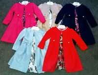 Girls Kids Fashion Long Trench Coat Winter Wind Jacket Party Dress Outerwear New