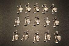 pour création bijoux: pendentif parfum 28x14mm lot de 15