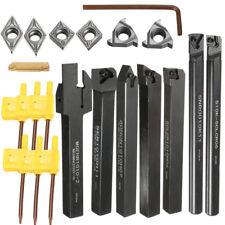 10/12/16mm Shank Lathe Turning Tool Holder Boring Bar & Various Carbide Inserts