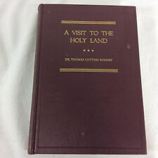 A Visit To The Holy Land And Other Mediterranean Countries Thomas Romney Mormon