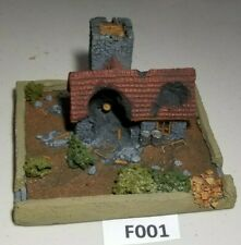 Flames of War Ruined Farm House 15mm Basic Paint
