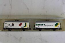 """Minitrix 11413 """"carro de refrigeración-set UBL Trix-Schuco"""" pista n"""
