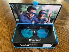 NEW Brookstone Audioshades Sunglasses Bluetooth Dual Speakers Black Md/Lg