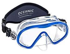 Oceanic Accent Scuba Snorkeling Dive Mask, Standard Fit - Blue