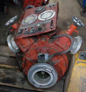 Ziegler, Bachert Feuerwehrpumpen ohne Motor