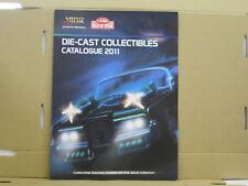 Vitesse Katalog, Die-Cast Collectibles, Catalogue 2011, englisch, 4 Seiten