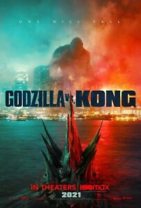 Offical Godzilla vs. Kong One will fall Movie Poster