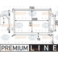 Kondensator für Klimaanlage Klimakondensator Klimakühler HELLA (8FC 351 302-591)