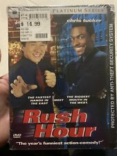 Rush Hour (Dvd, 1999, Platinum Series) New Jackie Chan Free Shipping