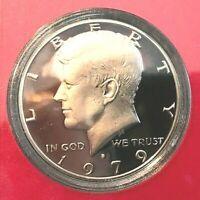 1979 S Type 1 Kennedy Half  Dollar Deep Cameo Gem Proof