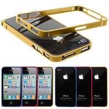 Apple iPhone 4 4s premium bumper aluminio cáscara, funda protectora, móvil, protección, funda bolsa