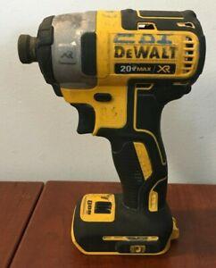 "Dewalt DCF887 20V Max XR Brushless 1/4"" Impact Driver (Tool Only)"