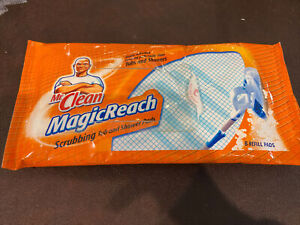 Mr. Clean Magic Reach Scrubbing Tub And Shower Pad Refills Used 6 Pads Left