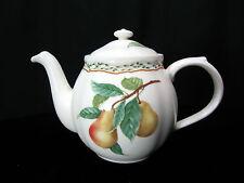 """Noritake Casual Gourmet China Teapot """"Gourmet Harvest""""  4 Cup Tea Pot with Lid"""